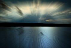 Water en snelheid Stock Foto's