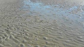 Water en zand Royalty-vrije Stock Fotografie