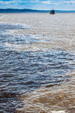 Water  encounter Royalty Free Stock Photography