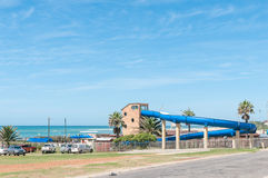 Water entertainment park in Jeffreys Bay Royalty Free Stock Image
