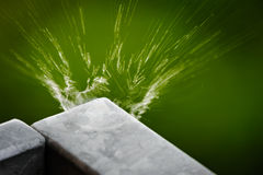 Water explosion Royalty Free Stock Photography