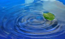 Water färgstänk Arkivfoton