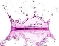 Water färgstänk Arkivfoto