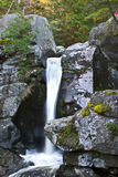 Water fall. Grand water fall in nature trail Royalty Free Stock Image