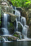 Water fall. Landscape water fall in thailand royalty free stock images