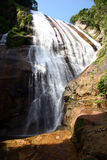 Water fall. In ilhabela, brazil royalty free stock images