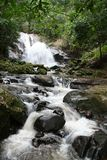 Water fall. A beautiful water fall in Thailand National park Royalty Free Stock Image
