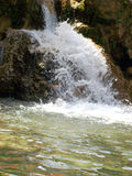 Water Fall. Kempty Fall, at a height of 6500 ft., a tourist place near Mussoorie, India Stock Photos