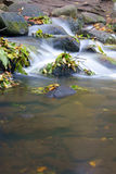 Water fall of a creek Stock Image