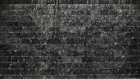 Water Fall On Dark Stone Tile Texture Royalty Free Stock Images