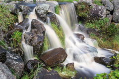 Water fall of the Eisgraben creek Royalty Free Stock Photo