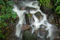 Water fall in forest. Thailand Royalty Free Stock Photography