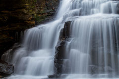 Water Fall in the forest Royalty Free Stock Images