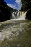Water fall gran riviere in mauritius Stock Image