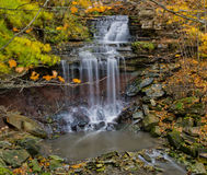Water fall in Hamilton. Toronto, Canada Stock Photos