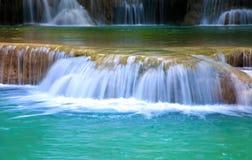 Water fall hua mae kamin Kanchanaburi, Thailand (hua mae kamin w Stock Image