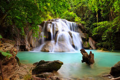 Water fall hua mae kamin Kanchanaburi, Thailand (hua mae kamin w Royalty Free Stock Image