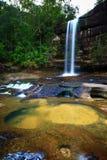 Water fall. Huailuang waterfall of Thailand Stock Photography