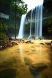 Water fall. Huailuang waterfall of Thailand Royalty Free Stock Photo