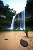 Water fall. Huailuang waterfall of Thailand Royalty Free Stock Photos