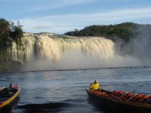 Free Water Fall In The Lagoon In The Amazon Royalty Free Stock Image - 110155656