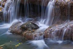 Water fall in kanchanaburi thailand Royalty Free Stock Photo