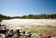 Water fall in Laos Stock Images