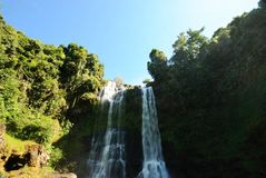 Water fall in Laos Stock Photos