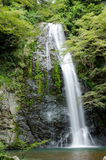 Water fall at the Mino Quasi National Park Stock Images