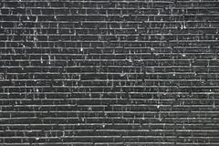 Water fall on old brick grey wall background.  Stock Images