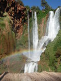 Water Fall (Ozoud Falls, Morocco) Stock Photo