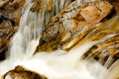 Water fall at Phang-Nga Royalty Free Stock Photo