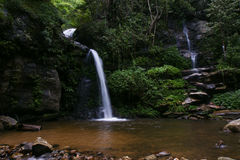 Water fall rain forest national park Royalty Free Stock Photo