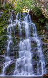 Water fall. River water fall in wood, in Gaspesie, Quebec, Canada Stock Images