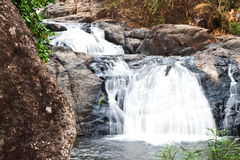 Water fall in spring season Stock Image