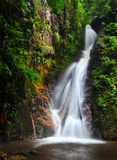 Water fall in spring season Royalty Free Stock Photography