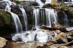 A water fall. In sun light Stock Images