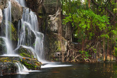 Water fall in Thailand Royalty Free Stock Photo