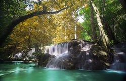 Water fall in thailand Stock Photo
