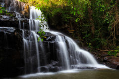 Water fall in Thailand Stock Images