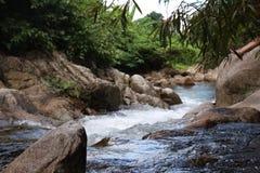 นำ้ตกตรอกนอง. Water fall at chanthaburi Thailand stock image