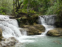 Water fall. The view of the waterfall Stock Photos