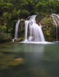 Water fall. Waterfall  in Guizhou Province, China Royalty Free Stock Photo