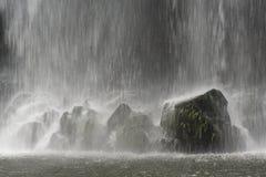 Water Falling on Rocks Stock Photos