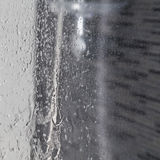 Water falling in the shower Royalty Free Stock Images
