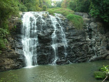 Water Falls. The famous Abbey Falls near Mercara, about 300 Kilometers from Bangalore, India Stock Images