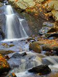 Water falls #2. Stream in new jersey state park Stock Image