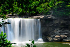 Water Falls. This is a shot of Cumberland falls in Kentucky. It claims to be th Niagara falls of the south Stock Images