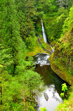 Water Falls along Eagle Creek Trail. In Oregon on the Columbia River Gorge Stock Photography