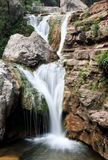 Water falls and cascades of Yun-Tai Mountain China Stock Photography